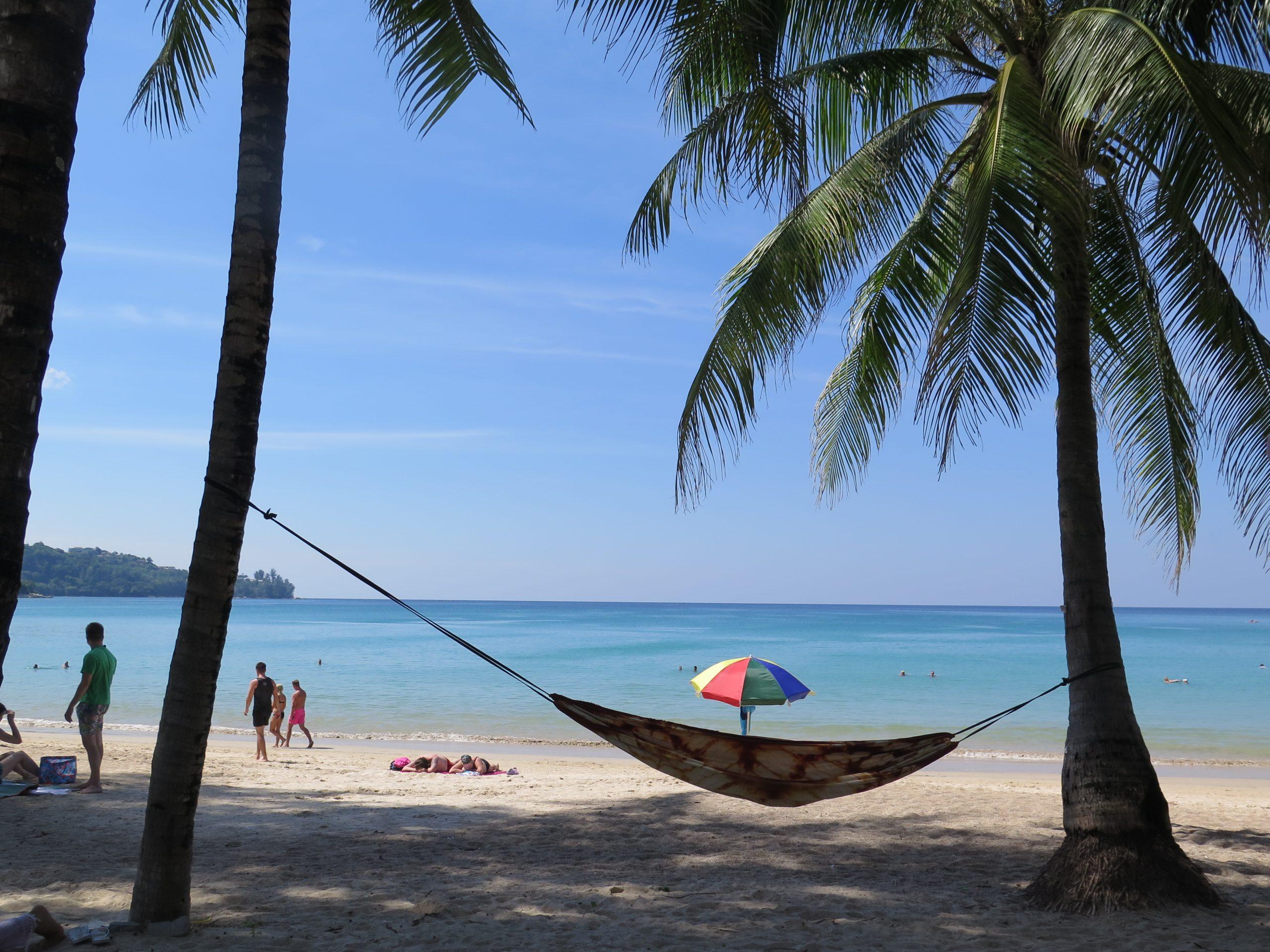 phuket beach hammock