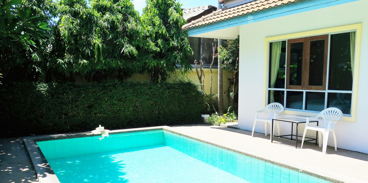 2 bedroom pool villa Chalong